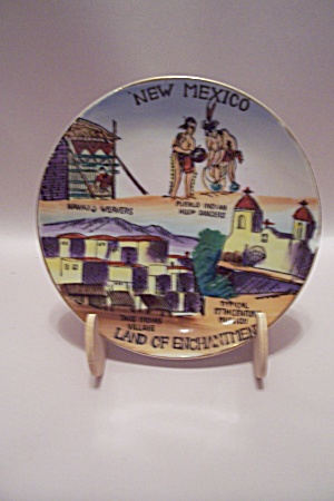 New Mexico Souvenir Collector Plate