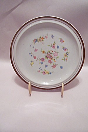 Colonial Stoneware Violet Pattern Salad Plate