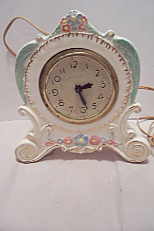 Landshire Porcelain Electric Clock