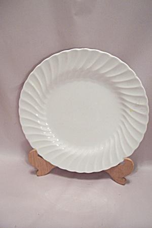 Sheffield Bone White Swirl Pattern China Dinner Plate & Sheffield - Antique China Antique Dinnerware Vintage China ...
