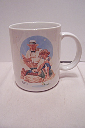 Norman Rockwell Catching The Big One Mug
