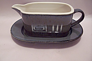 Mikasa Potter's Craft Firesong Pattern China Gravy Boat