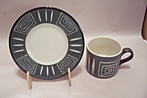 Mikasa Potter's Craft Firesong China Cup & Saucer Set