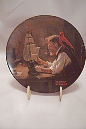 Knowles Norman Rockwell The Ship Builder Plate