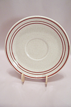Royal Doulton Nutmeg Pattern China Saucer