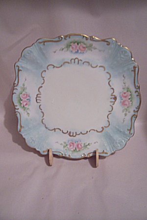Pink Rose Collector Plate