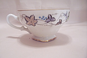 Style House Bordeaux Pattern Fine China Footed Cup