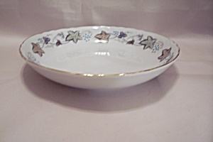 Style House Bordeaux Pattern Fine China Coup Soup Bowl