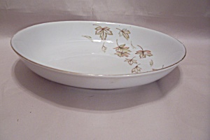 Sone Fine China Pattern 1727 Oval Serving Bowl