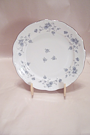 Johann Haviland Blue Garland Pattern China Salad Plate