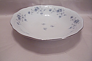 Johann Haviland Blue Garland Pattern Coup Soup Bowl