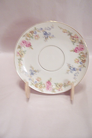 Kpm Royal Ivory The Symphony Pattern China Saucer