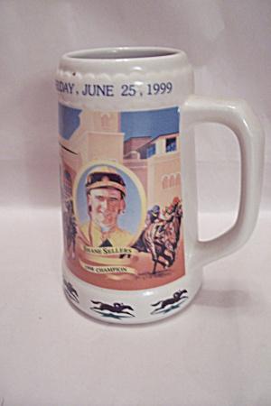 All-Star Jockey Championship  Porcelain Beer Mug (Image1)