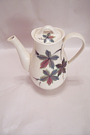 Hand Painted Porcelain Teapot