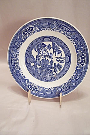 Royal China Willow Ware Pattern Luncheon Plate & Royal China - Antique China Antique Dinnerware Vintage China ...