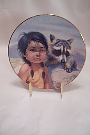 Dark-eyed Friends Collector Plate By Perillo