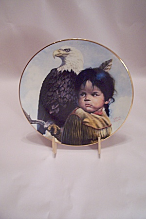 Brave & Free Collector Plate By Perillo