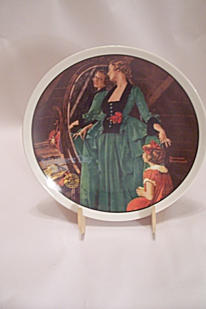 Knowles Norman Rockwell Mother's Day 1984 Plate