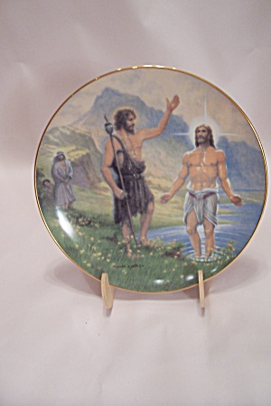 The Baptism Collector Plate