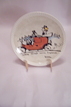 Walking Through Merrie England Collector Plate