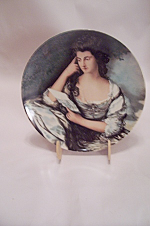 Mrs. John Douglas By Thomas Gainsborough Plate