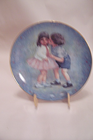 First Kiss By Rosemary Calder Collector Plate