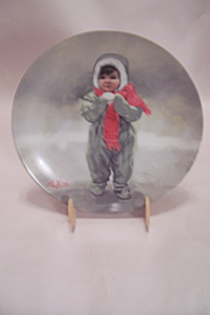Winter Angel By Donald Zolan Collector Plate