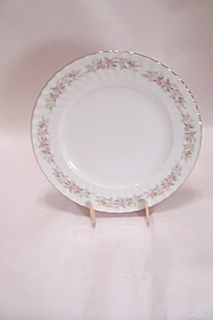 Dansico Teahouse Rose Pattern Fine China Dinner Plate