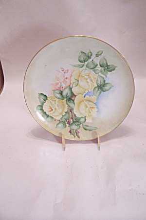Norleans Hand Painted Lisa Collector Plate