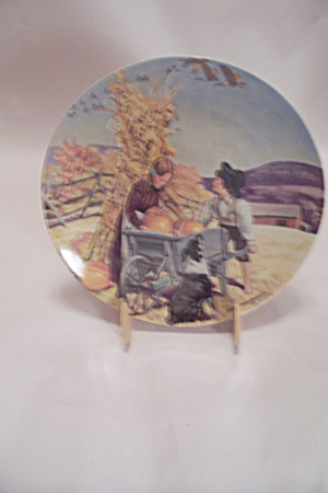 Thanksgiving By Don Spaulding Collector Plate