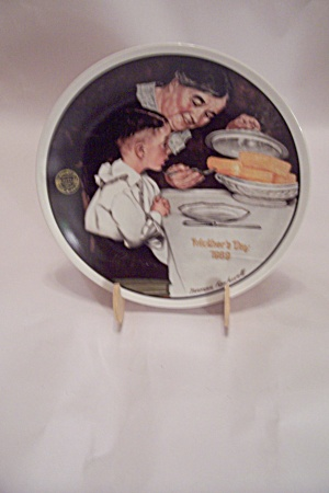 Mother's Day 1989 Sunday Dinner Collector Plate