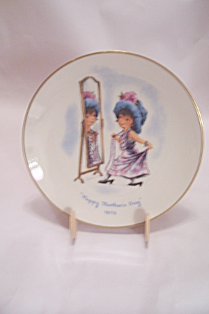 Gorham Moppets Mother's Day 1975 Collector Plate