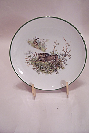 Western Germany Jkw Hare Collector Plate