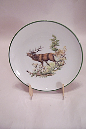 Western Germany Jkw Stag Collector Plate