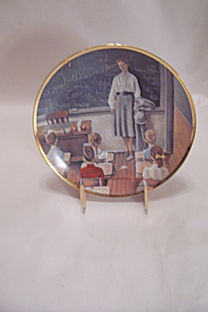 The School Teacher Collector Plate
