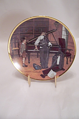The Piano Tuner Collector Plate