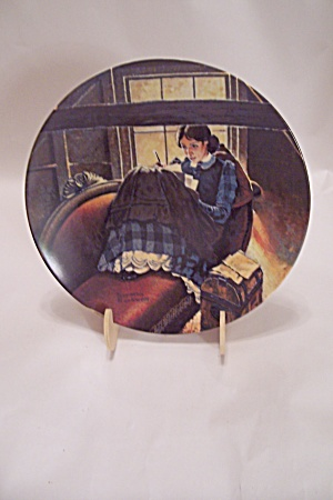 Dear Mother Collector Plate By Norman Rockwell
