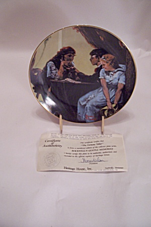 The Fortune Teller By Norman Rockwell Collector Plate