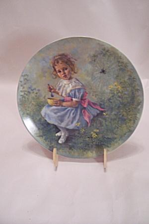 Little Miss Muffet By John Mcclelland Collector Plate