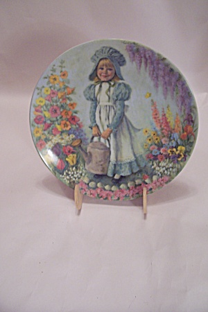 Mary, Mary By John Mcclelland Collector Plate