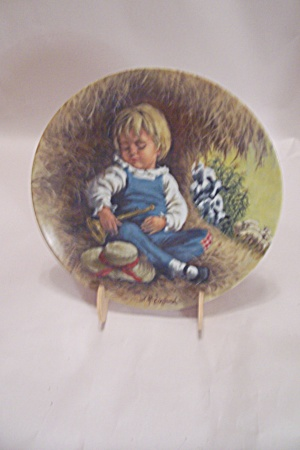 Little Boy Blue By John Mcclelland Collector Plate