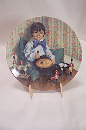 Little Jack Horner By John Mcclelland Collector Plate