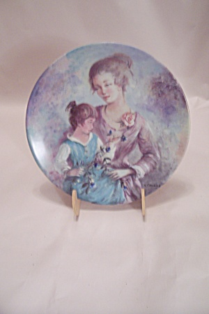 Marie Et Jacqueline By Guy Cambier Collector Plate