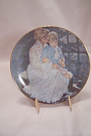 Mother's Helping Hand By Thornton Utz Collector Plate