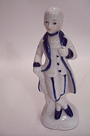 Porcelain Colonial Man Figurine (Image1)
