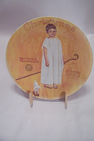 Angel With A Black Eye By Norman Rockwell Plate
