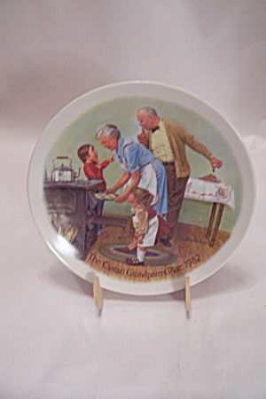 The Cookie Tasting By Csatari Grandparent 1982 Plate