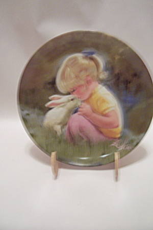 Tender Moment By Donald Zolan Collector Plate