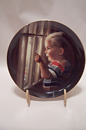 Daddy's Home By Donald Zolan Collector Plate
