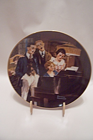 Close Harmony By Norman Rockwell Collector Plate